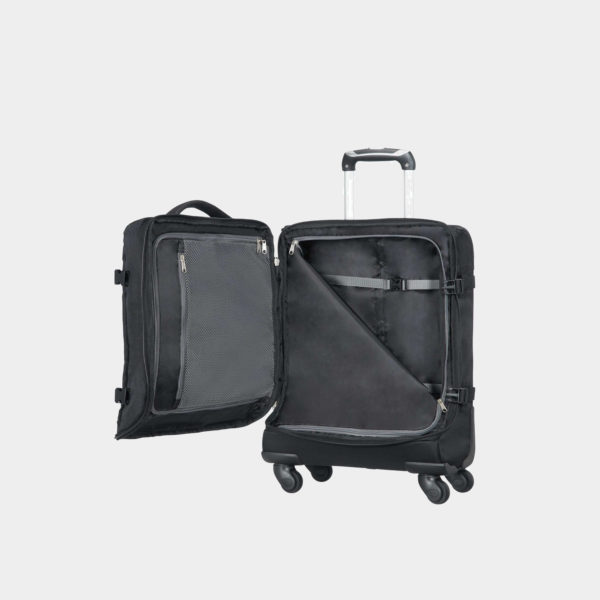 American Tourister Road Quest Spinner Duffle Carry On